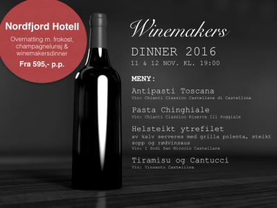 WINEMAKERS DINNER 11 & 12/11